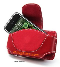 Apple iPhone Red Cover Case
