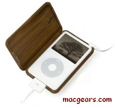 Wooden iPod Video Casing