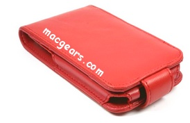 Prima Premium iPhone Red Flip Case
